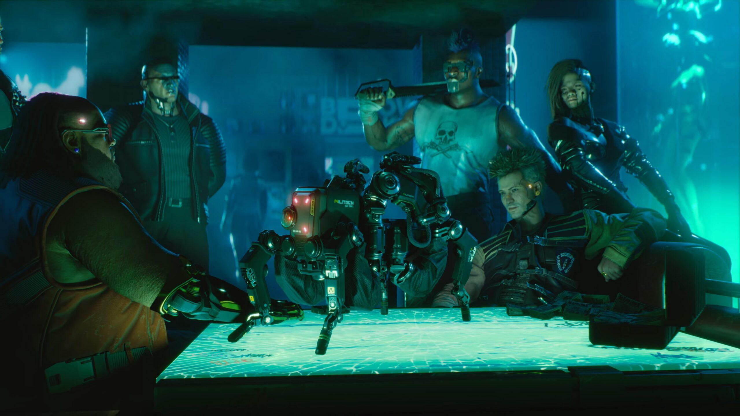 Cyberpunk 2077 Techie Class flathead spiderbot