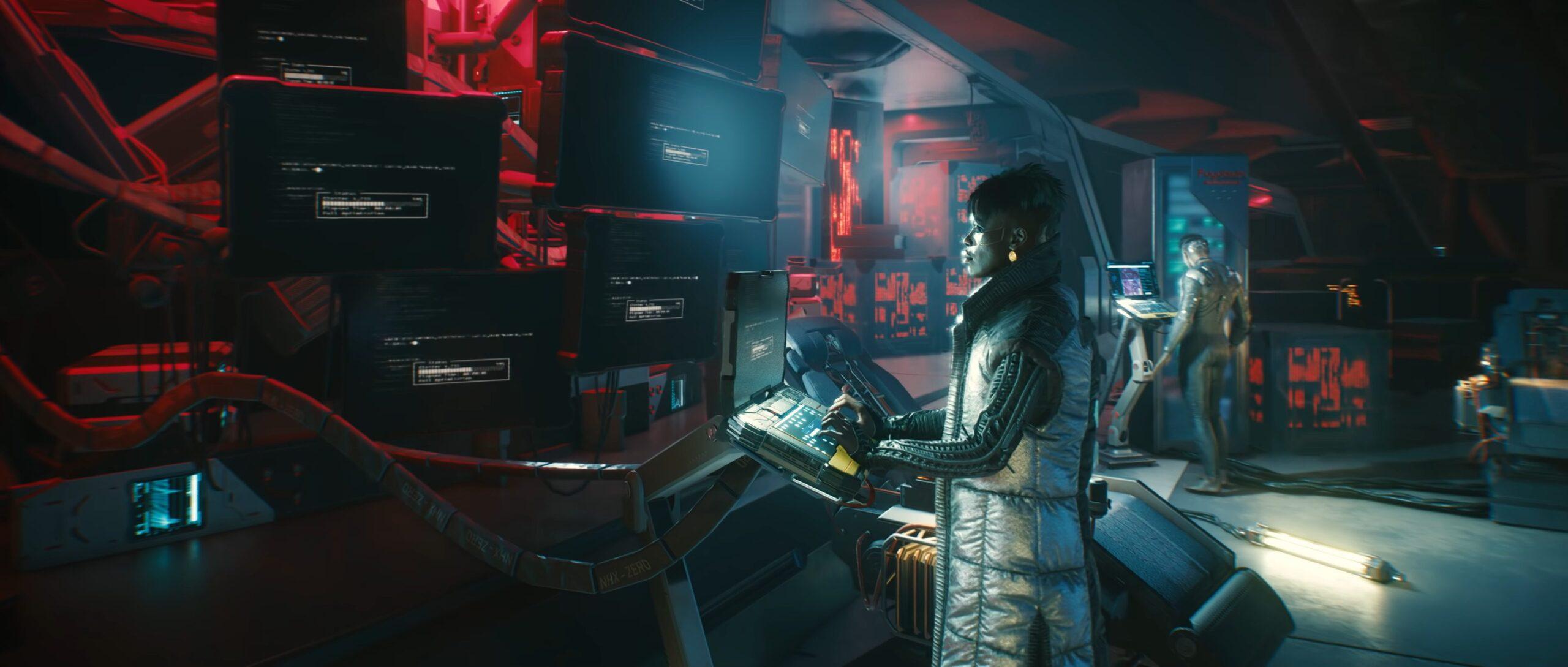 Cyberpunk 2077 Techie Class Netrunner