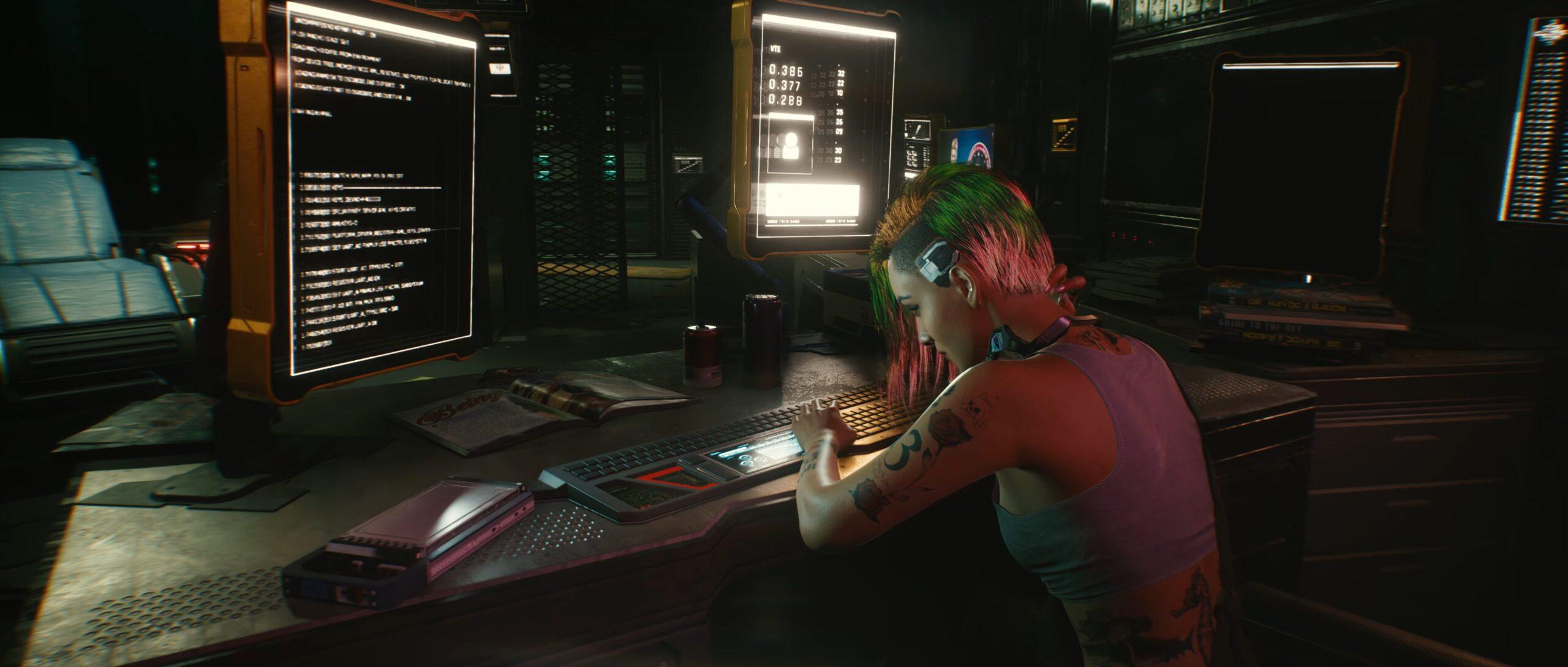 Cyberpunk 2077 crunch for CDPR