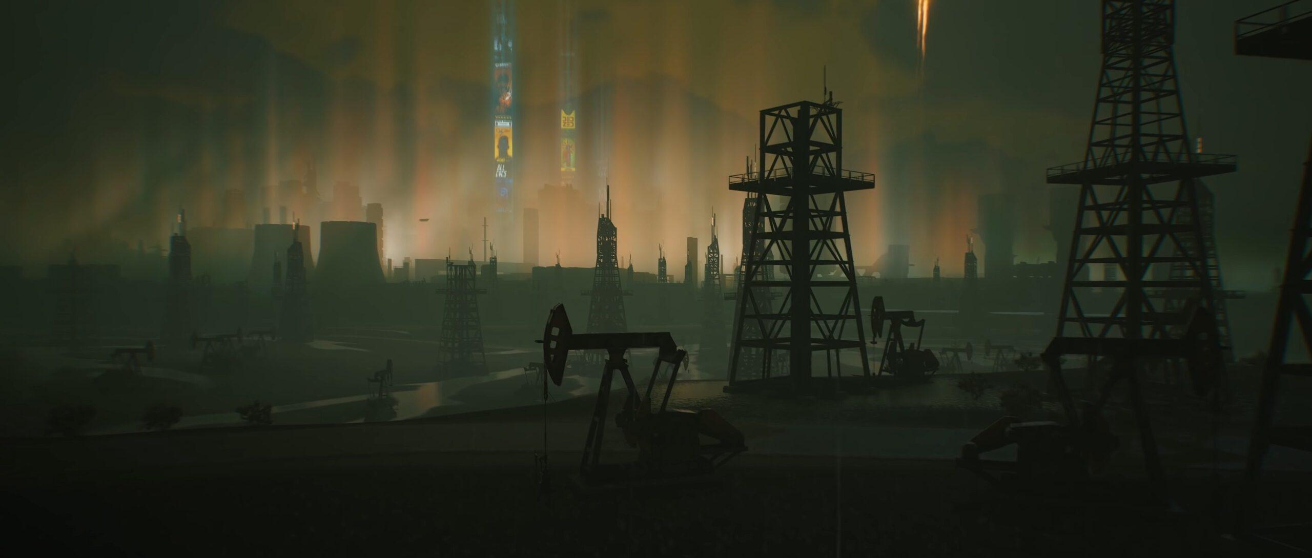 Cyberpunk 2077 interview inspiration night city