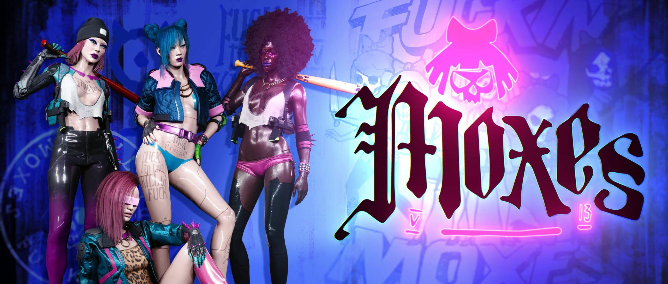 Cyberpunk 2077 — Gangs Of Night City Moxes