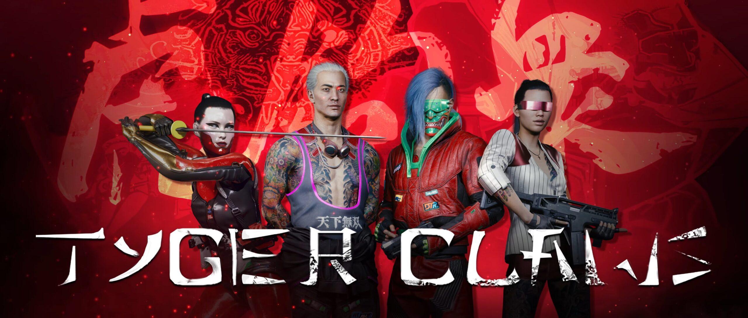 Cyberpunk 2077 — Gangs Of Night City Tyger Claws