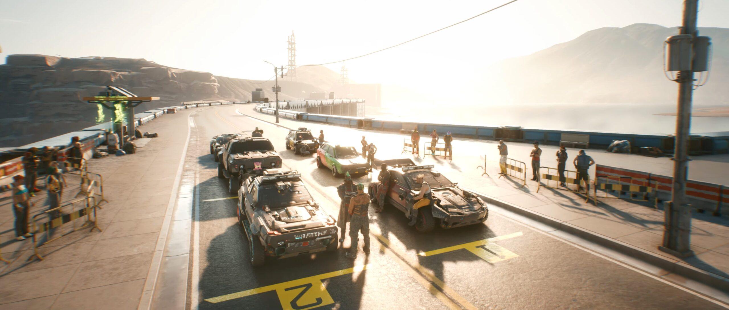 Cyberpunk 2077 — Gangs Of Night City Wraiths Racing