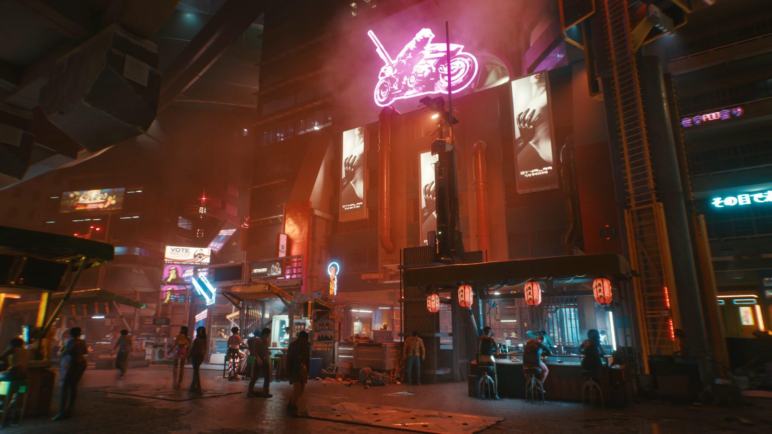 Cyberpunk 2077 — Night City Travel Exploration