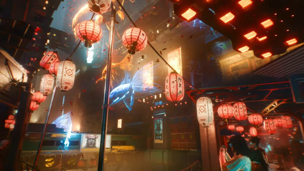 Cyberpunk 2077 — Official Gameplay Trailer how it feels to play cyberpunk 2077 holographic fish kabuki