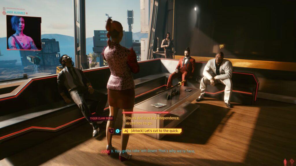 Cyberpunk 2077 — Official Gameplay Trailer Dialogue Options
