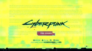 Cyberpunk 2077 — Official Launch Trailer — CDPR hidden message to fans