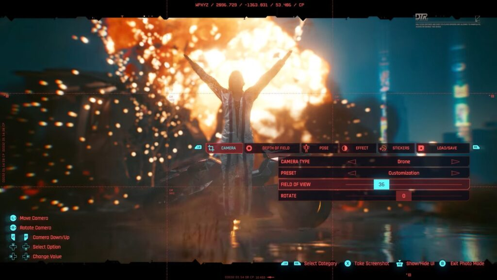 Cyberpunk 2077 — Photo Mode Trailer V for victory praise the sun
