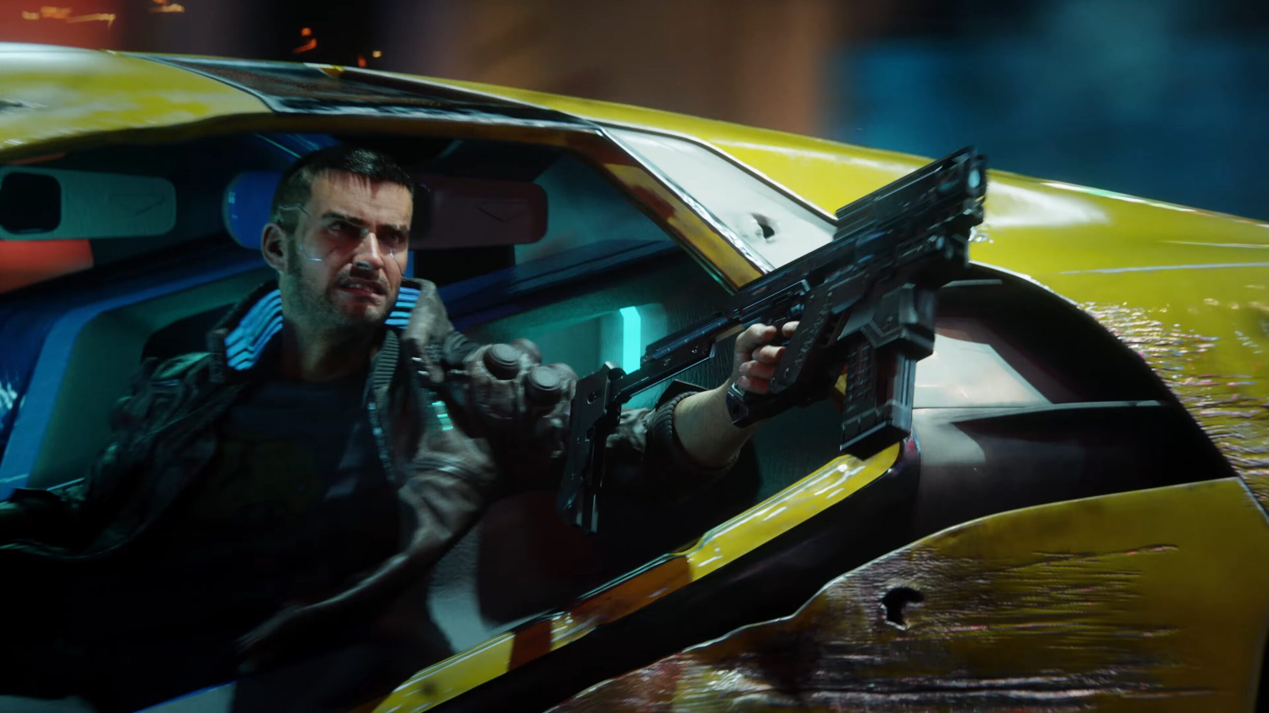 Cyberpunk 2077 — Seize The Day car chase V
