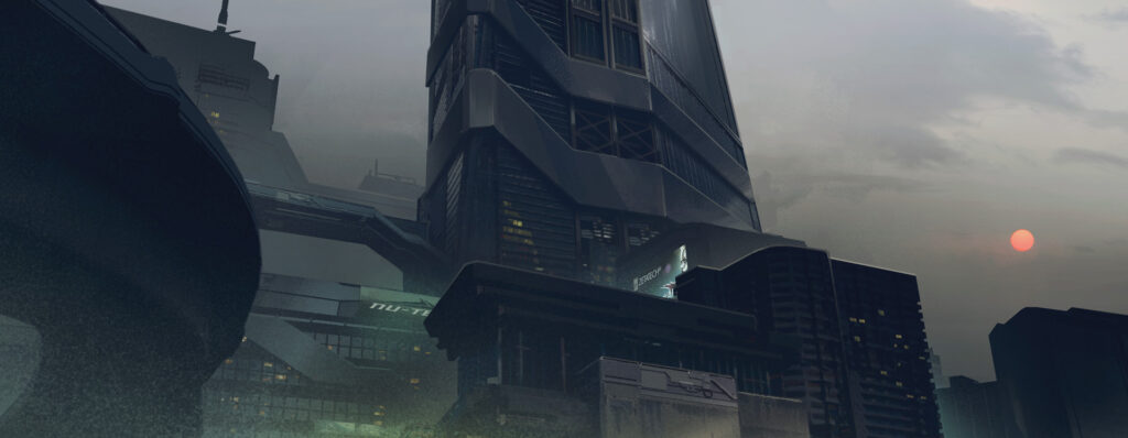 Cyberpunk 2077 City Center Corpo Plaza