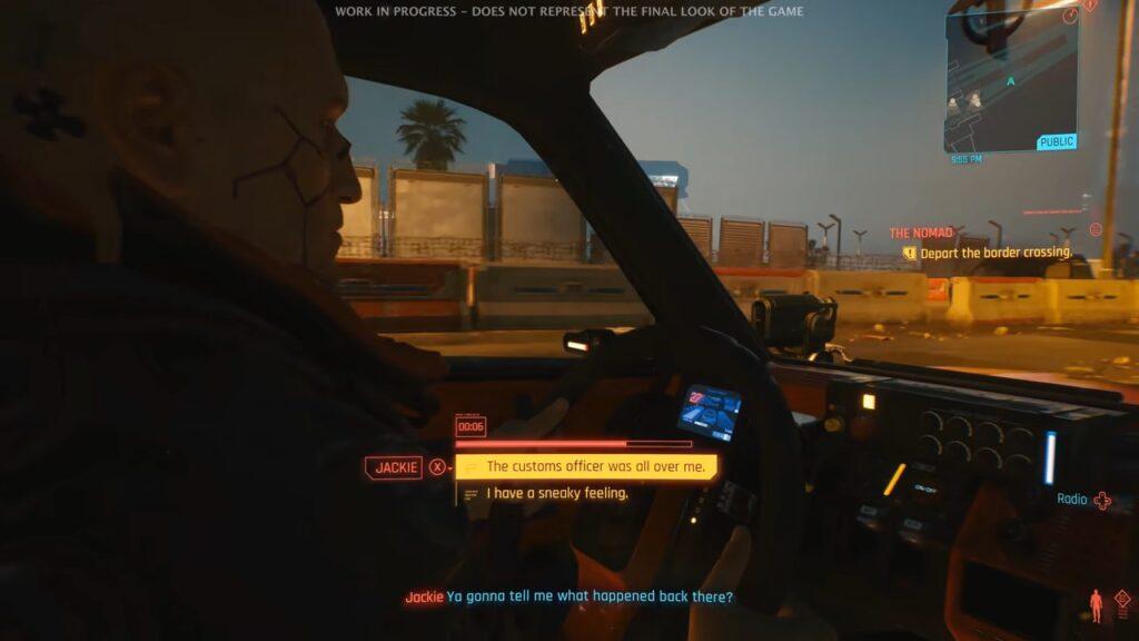 Cyberpunk 2077 Dialogue As A Part Of Cutscenes