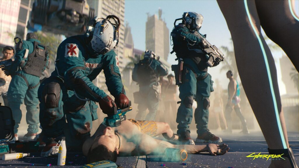 Cyberpunk 2077 Dysfunctional Government, Modified Humanity, And Questionable Morality