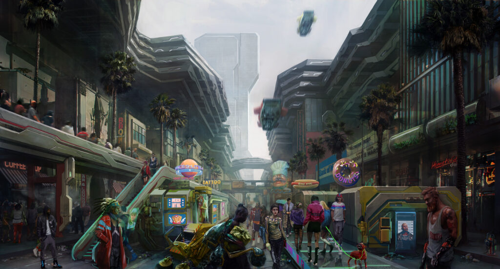 Cyberpunk 2077 Heywood Wellsprings