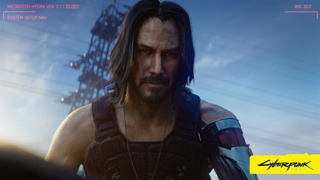 Cyberpunk 2077 How Keanu Reeves Became Johnny Silverhand