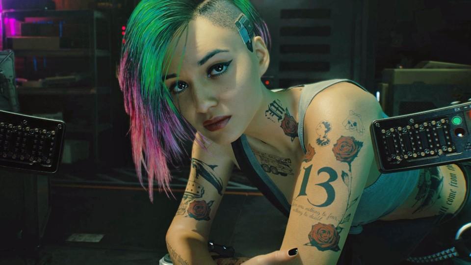 Cyberpunk 2077 Judy Alvarez Romance