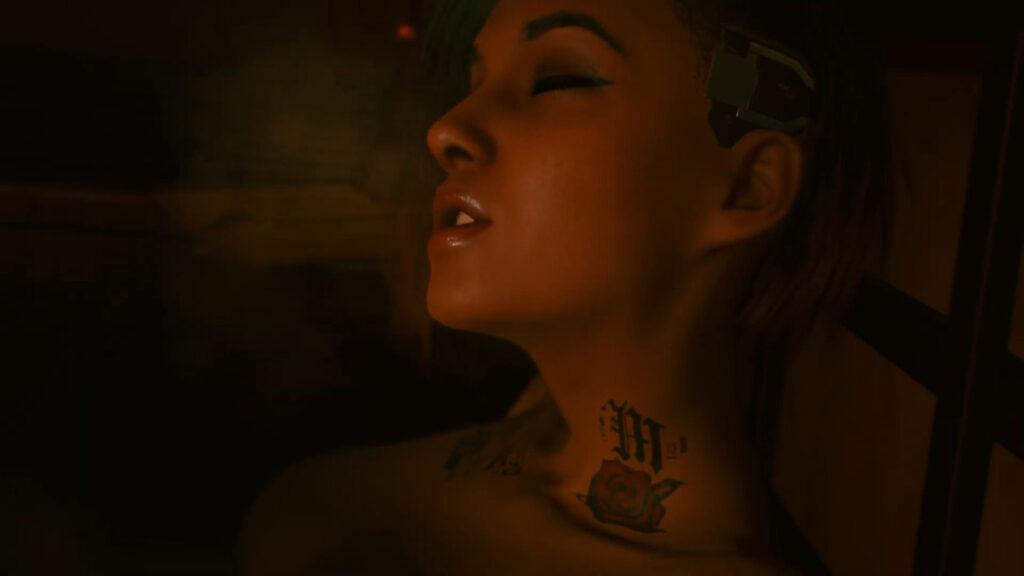 Cyberpunk 2077 Judy Romantic Scene 2