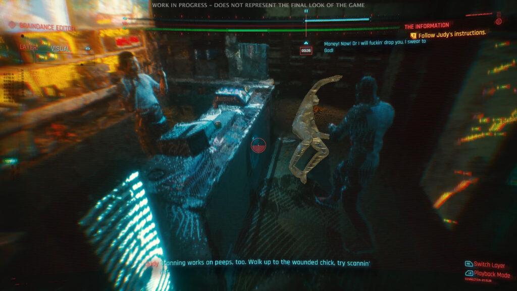 Cyberpunk 2077 Judy And Braindance