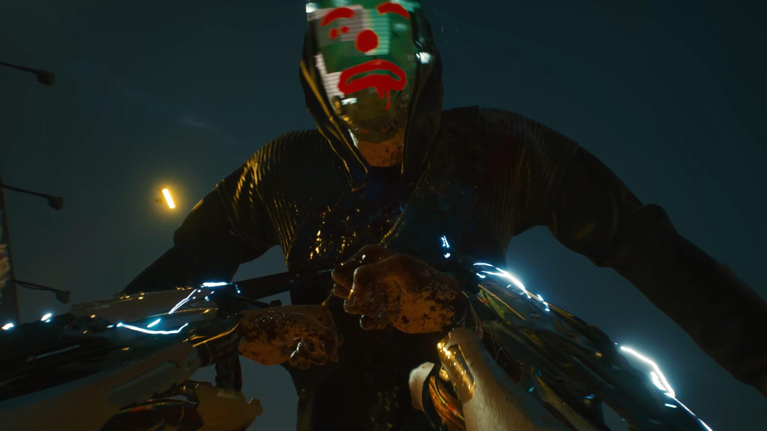 Cyberpunk 2077 Mantis Blades Combat Animation Cyberware Weapon