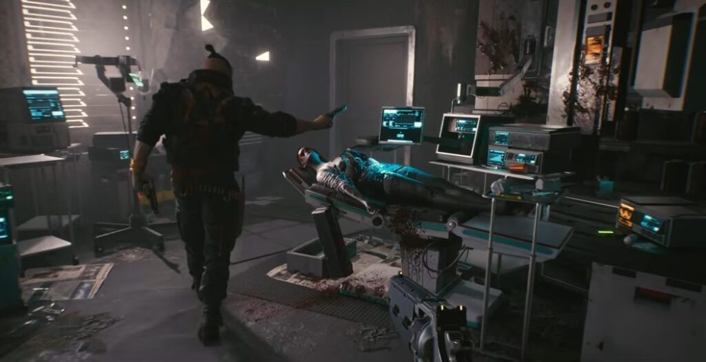 Cyberpunk 2077 Naked Bodies In The Game