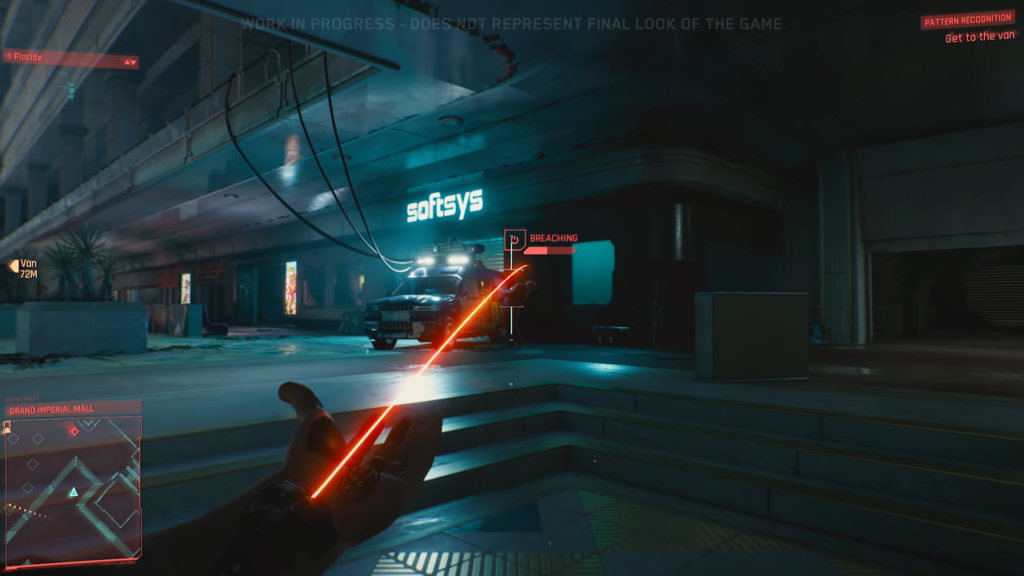 Cyberpunk 2077 Nanowire