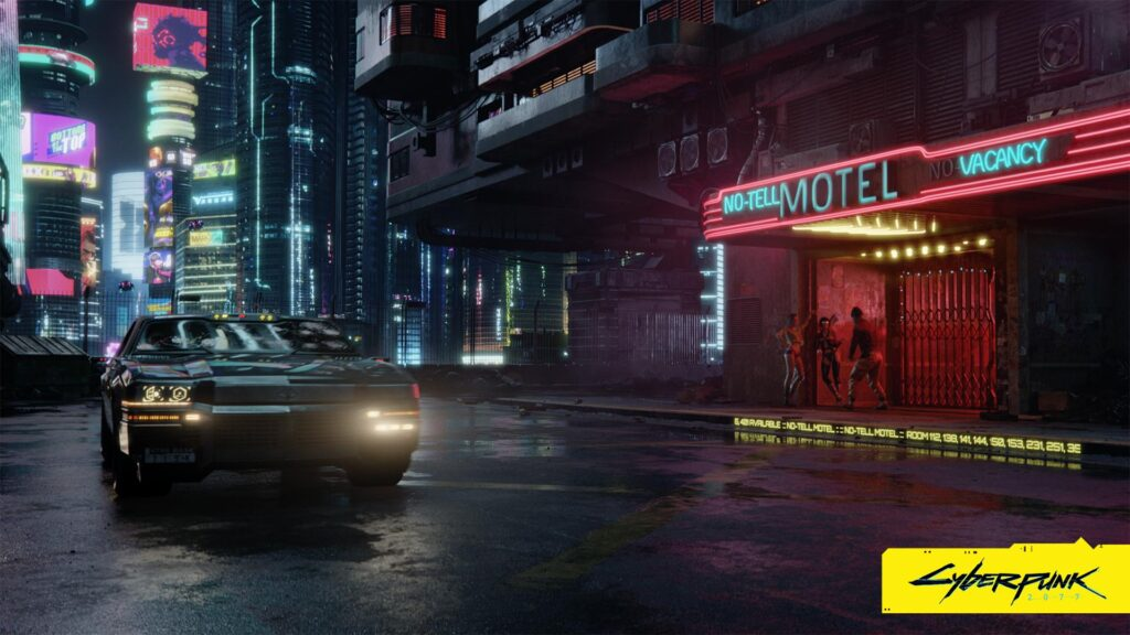 Cyberpunk 2077 No Tell Motel Cyberpunk 2077 Release Date