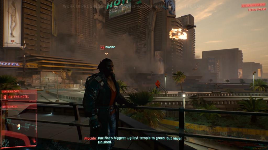 Cyberpunk 2077 Pacifica Explosion Placide Voodoo Boys