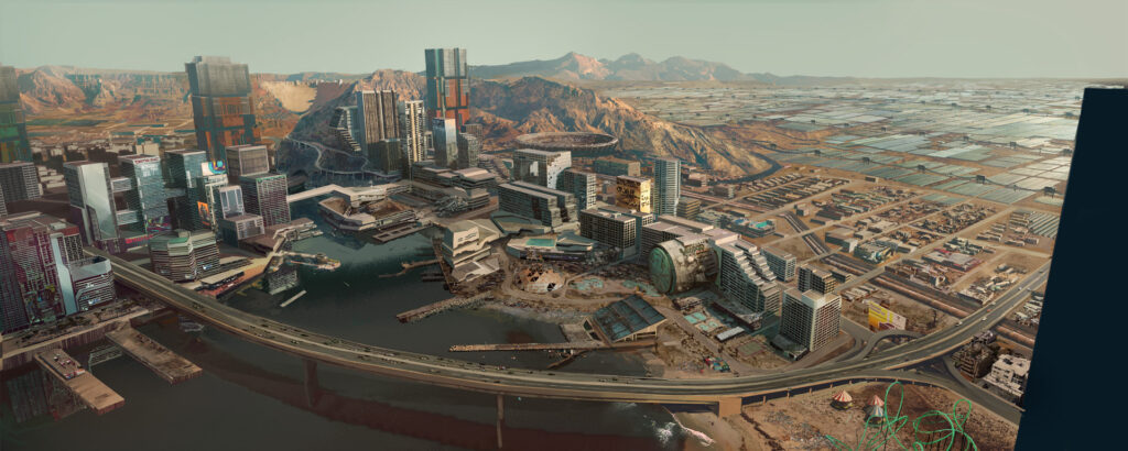 Cyberpunk 2077 Pacifica Overview