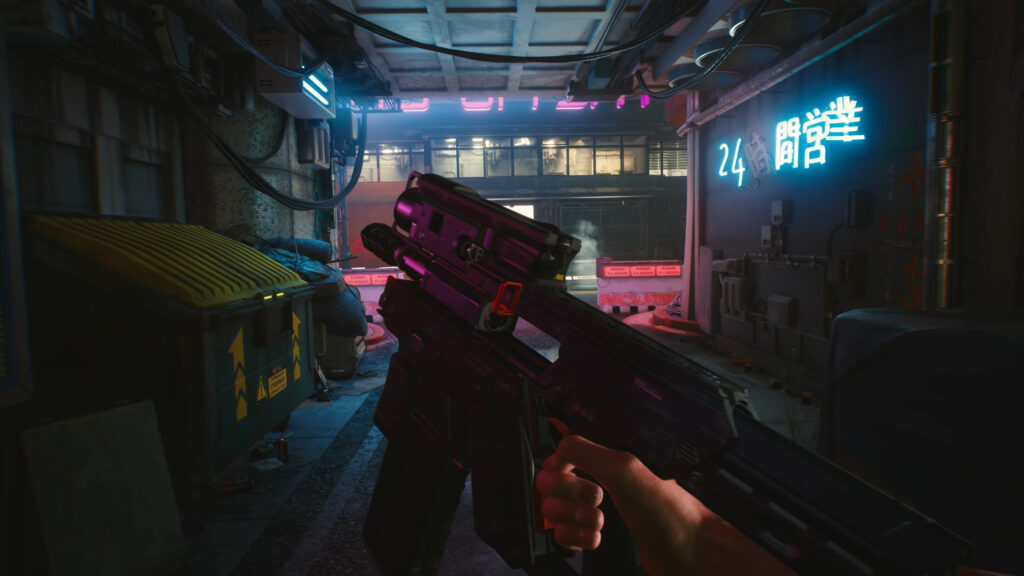 Cyberpunk 2077 Ranged Weapons Kinds And Varities