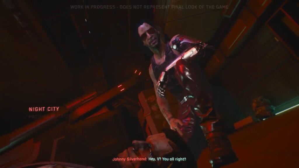 Cyberpunk 2077 Rockerboy Johnny Silverhand