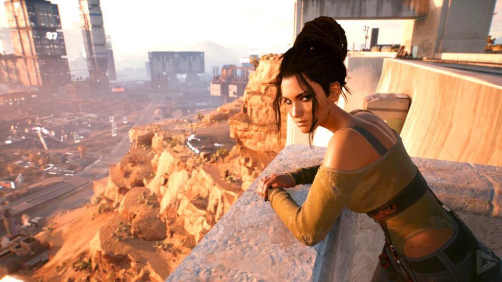 Cyberpunk 2077 Romance Guide Panam Discussing Night City