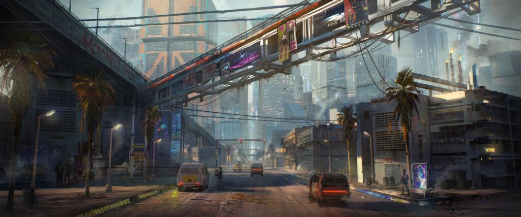 Cyberpunk 2077 Santo Domingo Arroyo