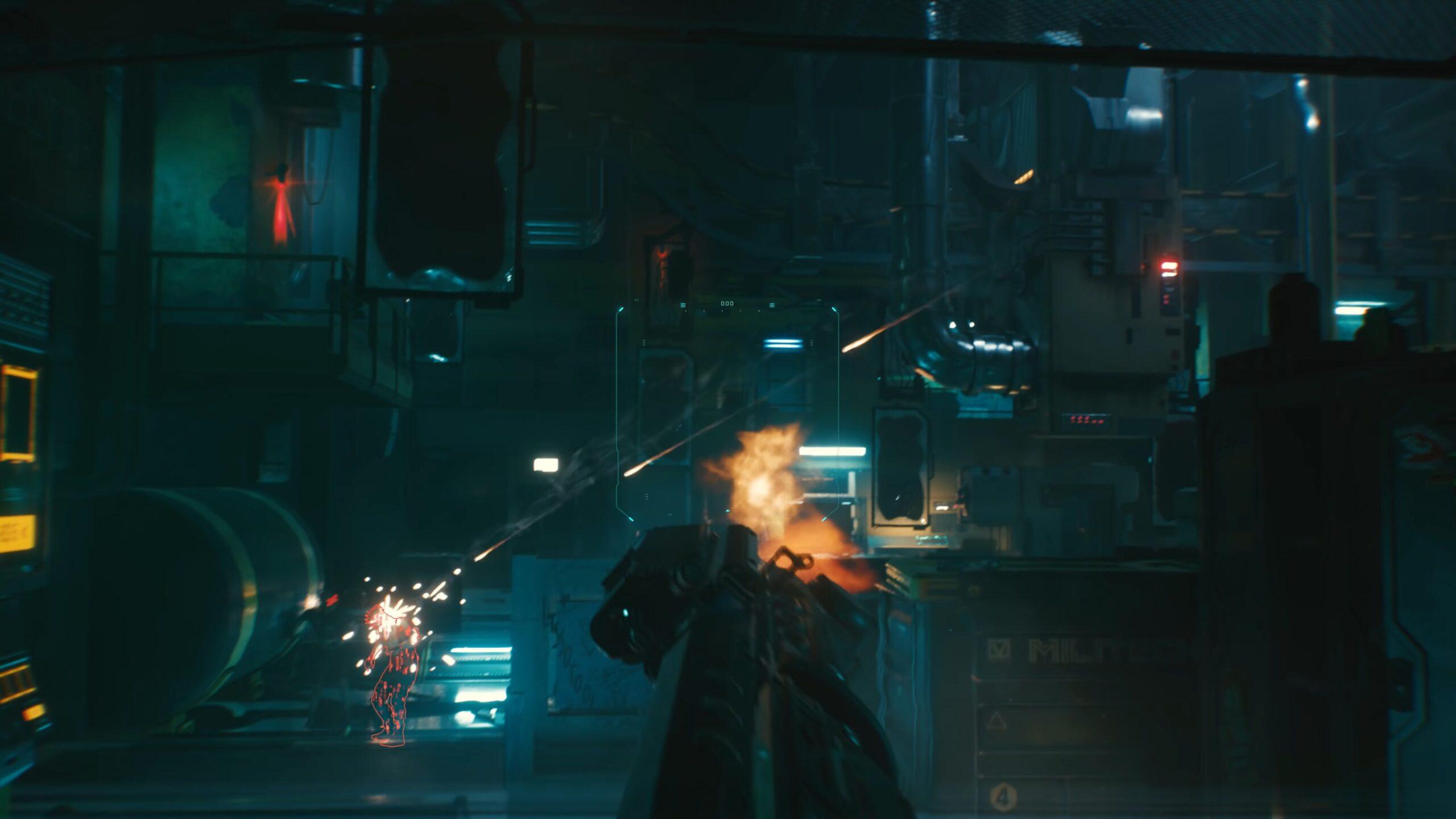 Cyberpunk 2077 Smart Weapons Guns Guided Shots