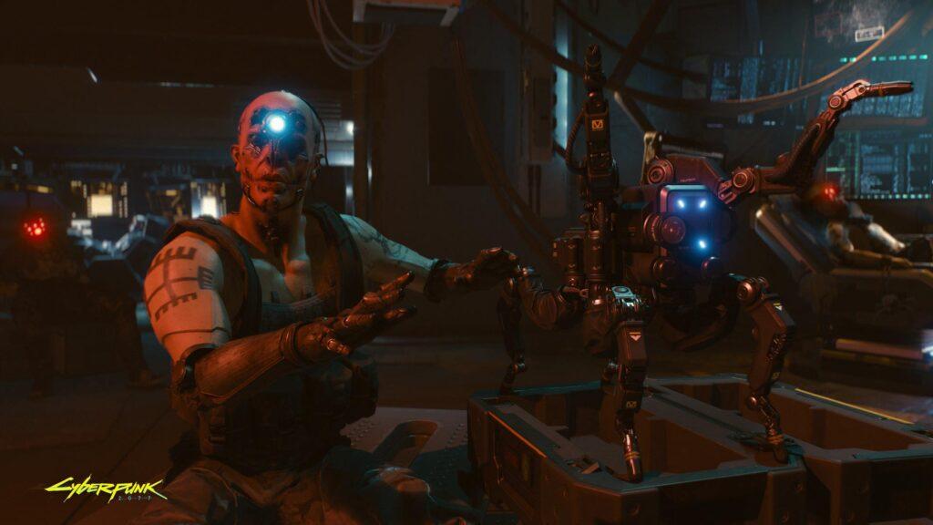 Cyberpunk 2077 Techie Archetype Personal Robot Flathead Spiderbot