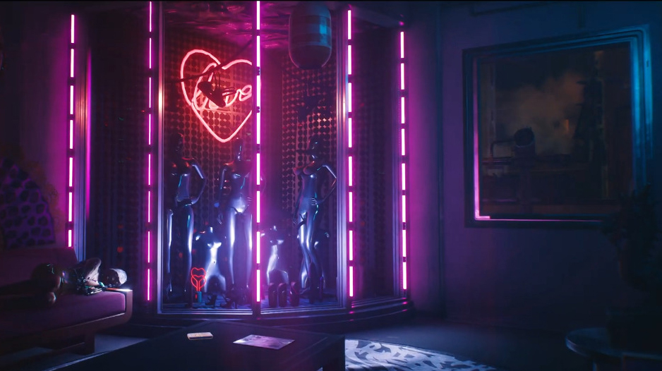 Cyberpunk 2077 The Mox Moxes Small Gang Lizzies Bar