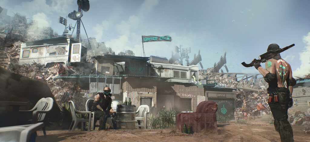 Cyberpunk 2077 The Outskirts Southern Desert Badlands