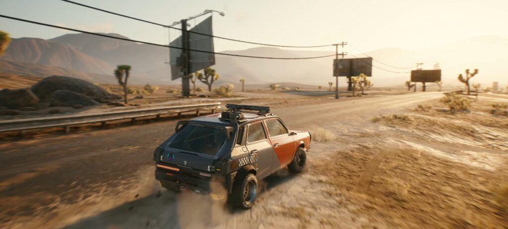 Cyberpunk 2077 Vehicles Guide Driving In Cyberpunk 2077