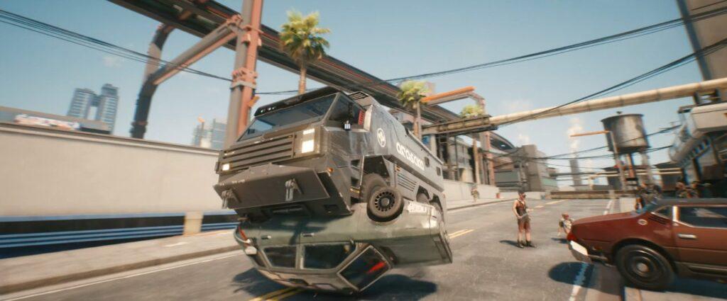 Cyberpunk 2077 Vehicles Guide Heavy Duty Tier Arasaka