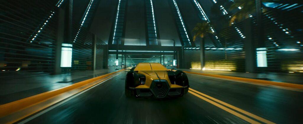 Cyberpunk 2077 Vehicles Guide Hypercars Tier Aerondight Rayfield 2