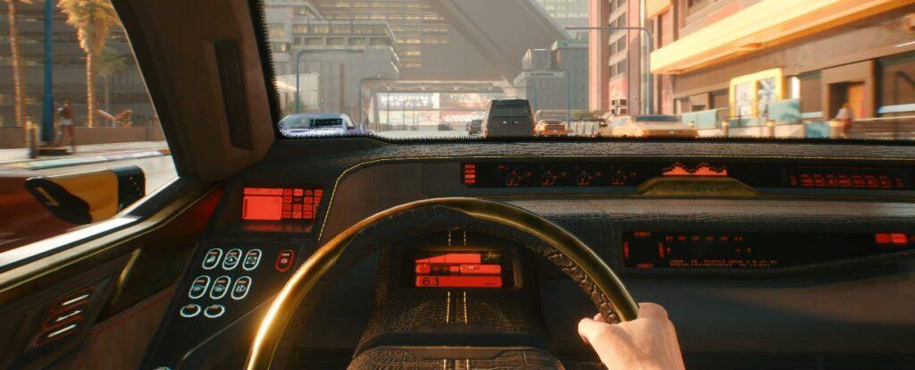 Cyberpunk 2077 Vehicles Guide Interior View
