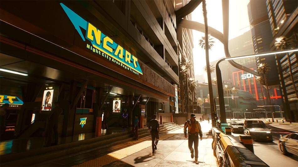 Cyberpunk 2077 Vehicles Guide Ncart Fast Travel System