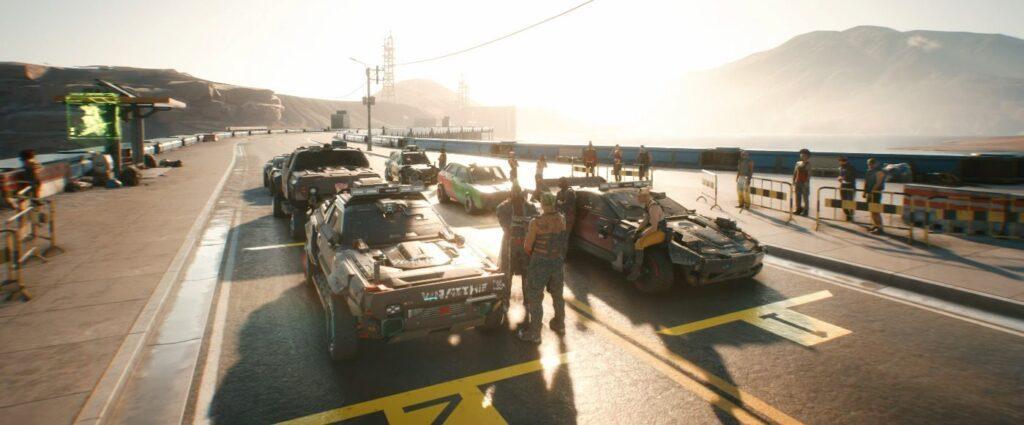 Cyberpunk 2077 Vehicles Guide Racing Mini Game