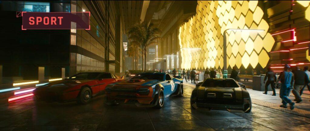 Cyberpunk 2077 Vehicles Guide Sport Tier