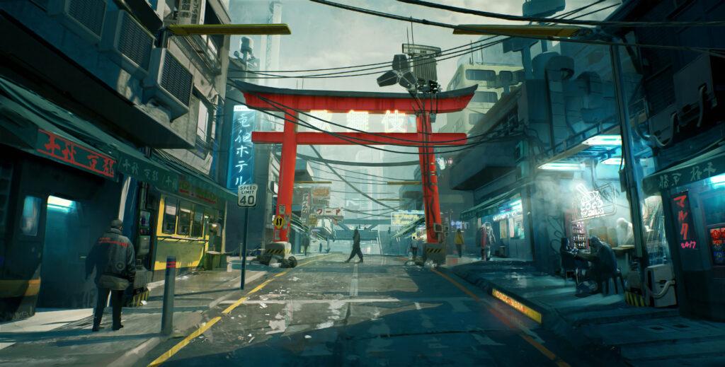Cyberpunk 2077 Watson Kabuki