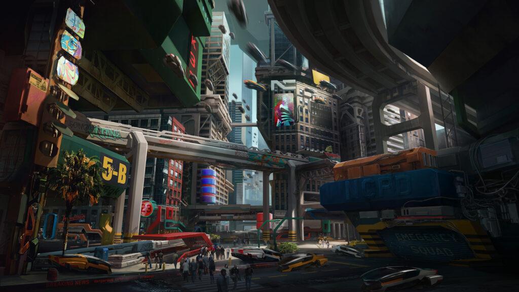 Cyberpunk 2077 Watson Little China