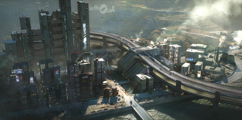 Cyberpunk 2077 Westbrook Charter Hill