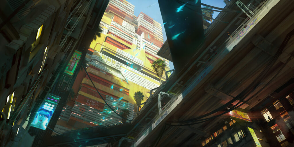 Cyberpunk 2077 Westbrook Japantown