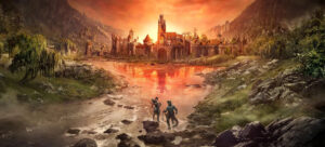 Elder Scrolls Online Black Wood Gates of Oblivion