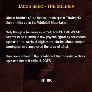 Far Cry 5 Dutchs Map Jacob Seed