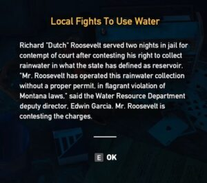 Far Cry 5 Local Fights To Use Water