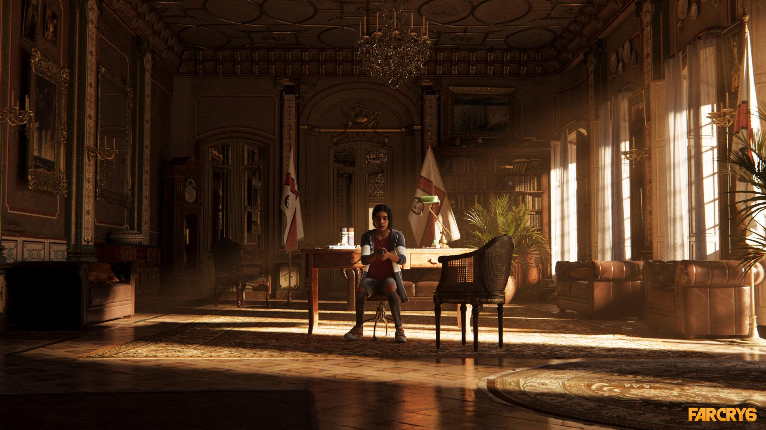 Far Cry 6 Diego Castillo Holding Grenade Screenshot